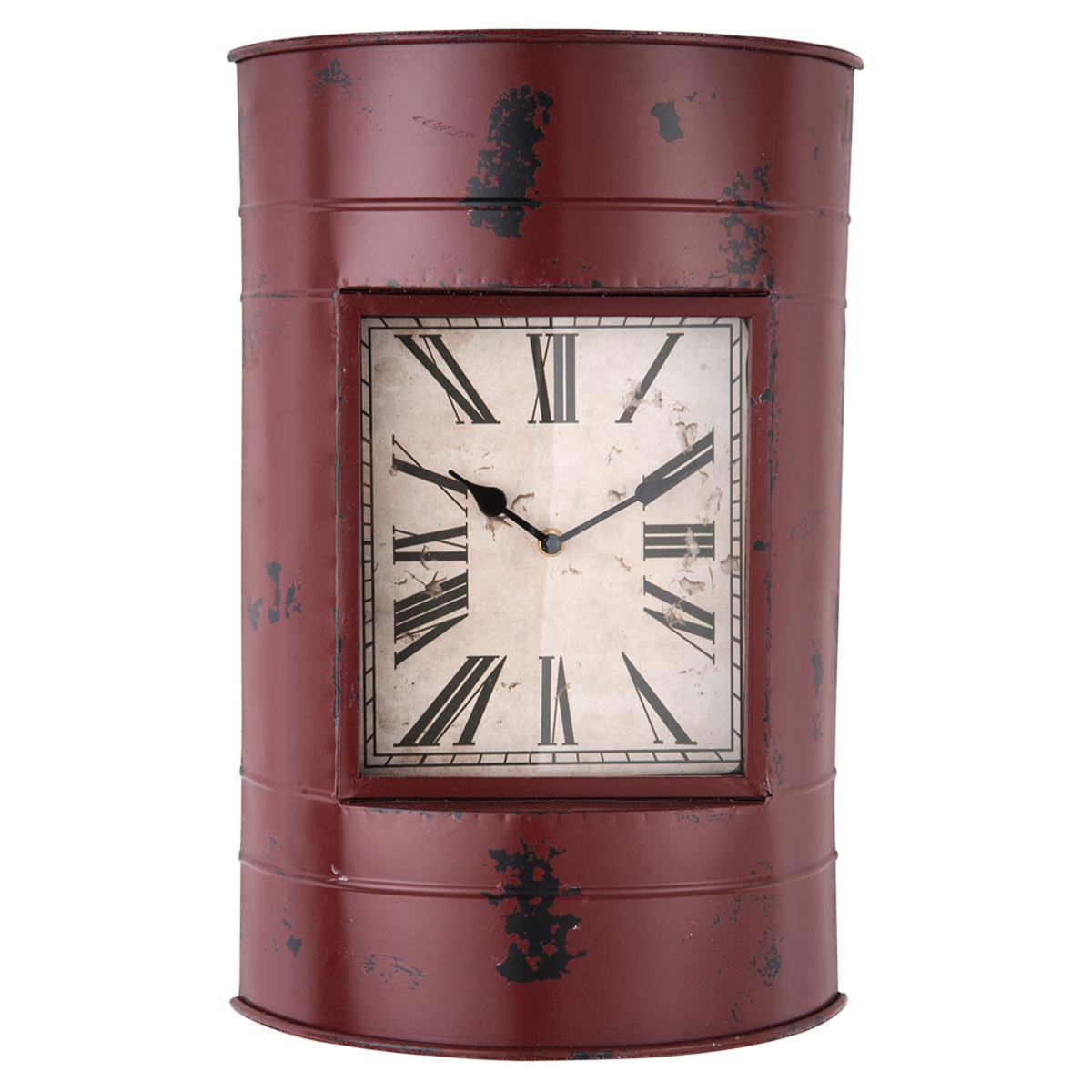 Red Drum Clock | Plum & Post