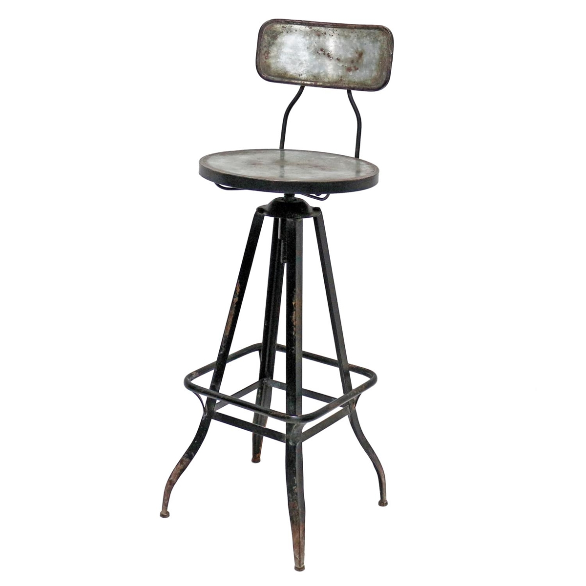 Winston Swivel Bar Stool Metal Accent Furniture Plum Amp Post
