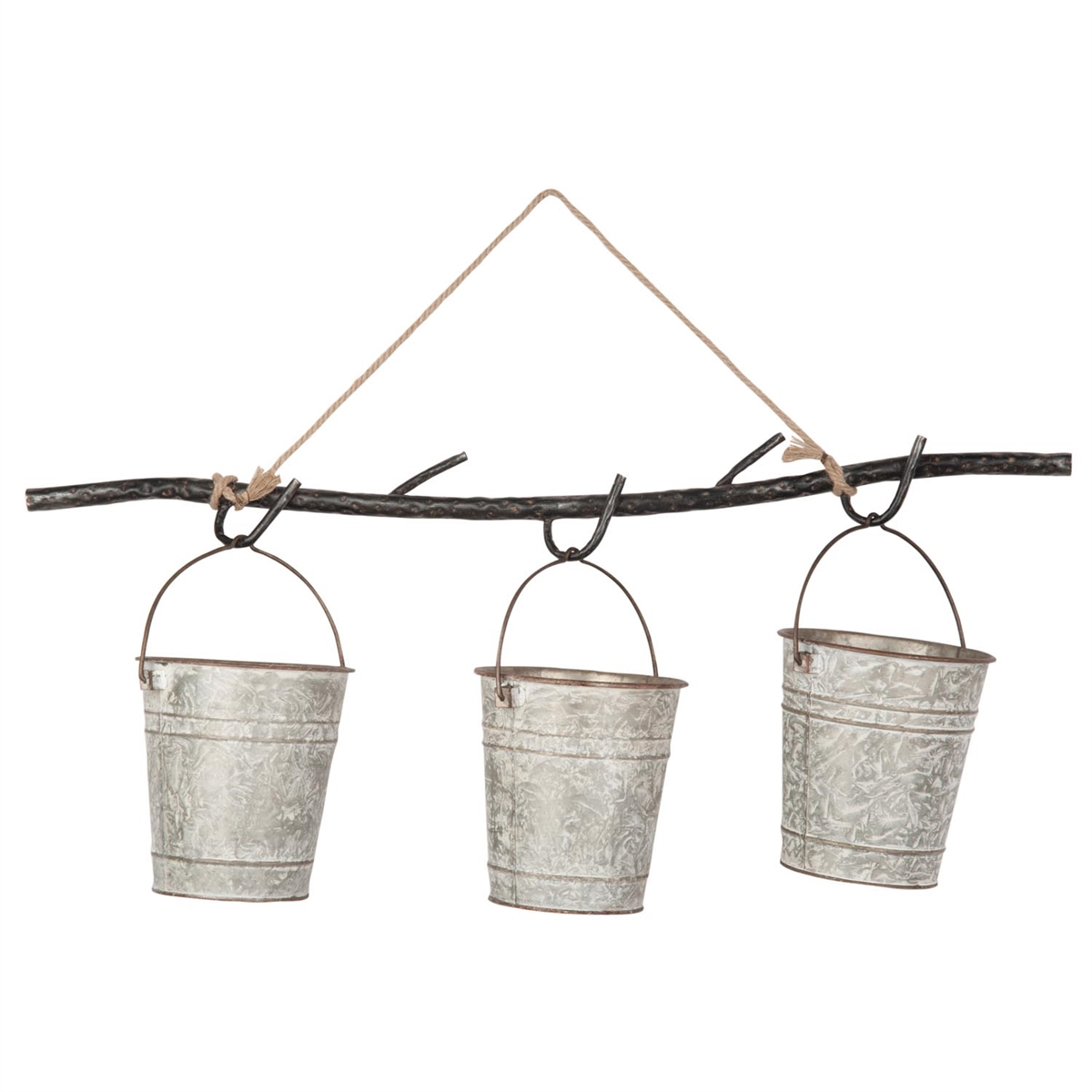 Delany Hanging 3 Bucket Planter