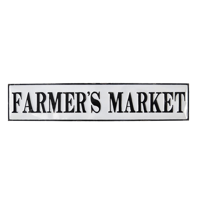 Farmers Market Wall Plaque