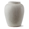 Amaya Urn Vase, White | Plum & Post