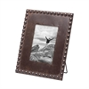 Beaded Picture Frame 5x7, Natural Photo Frame | Plum & Post