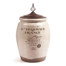 Paris 1914 Pharmacie Urn With Lid | Plum & Post