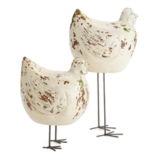 Long Legged Chickens, Set of Two | Plum & Post