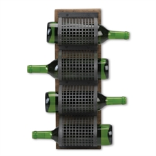Stack 'em Up Perforated Metal Wine Rack | Plum & Post