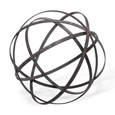 Folding  Orb, Large Decorative Accent | Plum & Post