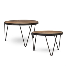 Hair-Pin Coffee Tables, Set of 2 | Plum & Post
