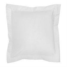 Signature Hemstitch White Pillow | Plum & Post