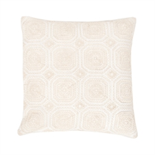 Geo Lace Pillow | Plum & Post