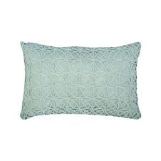 Ribbon Mesh Sea Glass Pillow | Plum & Post