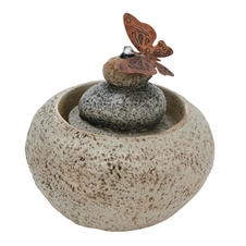 Stone Rock Cairn Fountain | Plum & Post