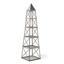 Obelisk 5-Shelf Etagere | Plum & Post