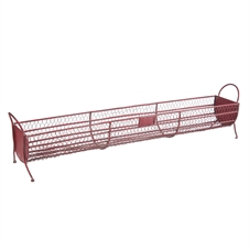 Red Wire Metal Basket, Decorative Basket | Plum & Post