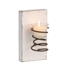 Spring Votive Candle Sconce