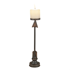 Arrow Candle Stick, Short Candle Accessory | Plum & Post