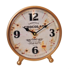 Chocolate Table Clock, Decorative Clock | Plum & Post