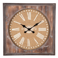 Aged Wood Wall Clock | Plum & Post