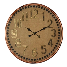 Metal Wall Clock XL | Plum & Post