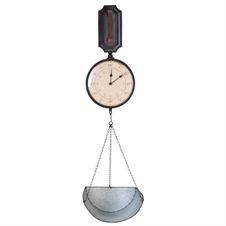Wall Clock With Scale