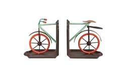 Bike Bookends, Set of 2 Decorative Accent | Plum & Post