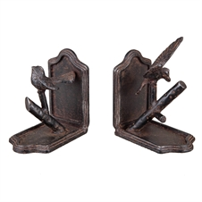 Bird Bookends, Set of 2 Decorative Accent | Plum & Post