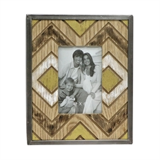 4X6 Slatted Photo Frame, Wooden Picture Frame | Plum & Post