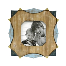 4X6 Carved Photo Frame, Wooden Picture Frame | Plum & Post