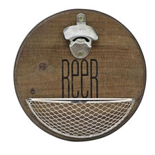 Wall-Mounted Beer Bottle Opener | Plum & Post