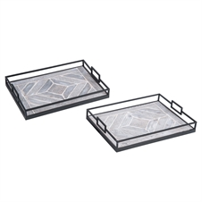 Memphis Trays, Set Of 2 | Plum & Post
