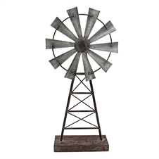 Windmill Table Decor, Large Decorative Accent | Plum & Post