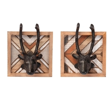 Outwest Wall Hooks, Set of 2 | Plum & Post
