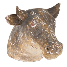 Cow Bust, Decorative Accent | Plum & Post