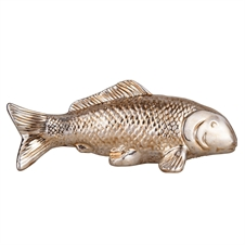 Aged Metal Fish, Decorative Accent | Plum & Post