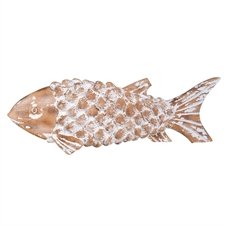 Carved Fish, Decorative Accent | Plum & Post