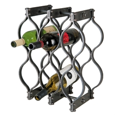 8 Bottle Tear Drop Wine Holder | Plum & Post