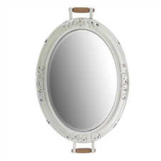 Enamel Mirror Tray