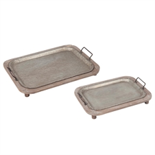 Terrain Trays, Set Of 2