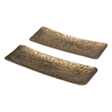 Global Market Trays, Set Of 2