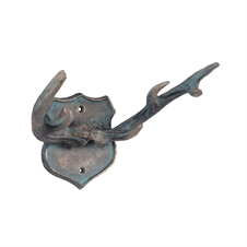 Copper Antlers Wall Hook, Decorative Accent | Plum & Post