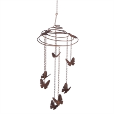 Slinky Butterfly Mobile Garden Accent | Plum & Post