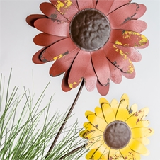 Recycled Flower Stake Daisy