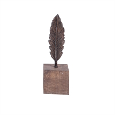 Feather on a Stand, Small | Plum & Post