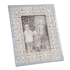 Tile Printed Frame, 5X7 Decorative Frame | Plum & Post
