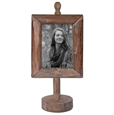 4 X 6 Wood Frame On Pedestal | Plum & Post