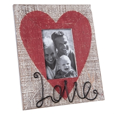 Love Picture Frame, 4X6 Decorative Frame | Plum & Post