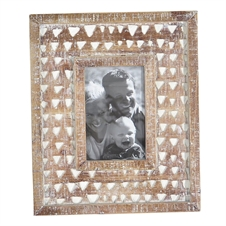 4X6 Carved Photo Frame | Plum & Post