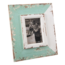 4X6 Green Wash Photo Frame