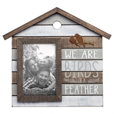 4X6 Birds Of A Feather Photo Frame