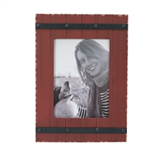 5X7 Austin Photo Frame Red