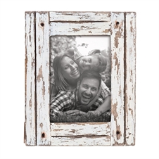 5X7 Heartland Photo Frame White